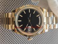 Vendita calda da uomo Qualità di lusso BP Factory Basel 40mm V3 2813 Data-Date Oyster 2288238 18 K Giallo Gold Move Moved Orologi