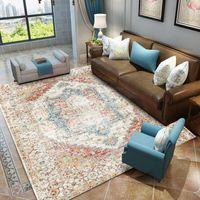 Teppiche Vintage Perser Marokkaner Home Teppiche Teppich für Wohnzimmer Schlafzimmer Studierende Dekor Bodenmatte Retro Amerikanisches Gebiet
