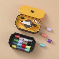 Carretéis de costura Caixa de costura Bobbins Bobbins Bobbins Caixa de armazenamento de plástico para ferramentas de acessórios em casa