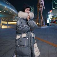 2021down Damen mittel lange Frauen Winterjacken Parka-Mäntel für 2020 neue koreanische lose BF-Taille Verdickung in Aus Baumwolle gepolsterte Mode