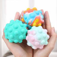 50%off 3D Fidget Toys Bubble Ball Game Sensory Toy Snowman ChristmasTree For Autism Special Needs Adhd Squishy Stress Reliever high quality 300