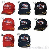 8 estilos mais novo 2024 trunfo boné de beisebol EUA eleição presidencial trmup mesmo estilo chapéu ambroidered ball top dhl transporte rápido