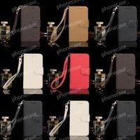 Moda Skórzany Portfel Torebka Projektant Telefon Przypadki dla iPhone 13 Pro Max 12 11 XR XS XSMAX 7/8 PLUS Karta Kieszonkowa Folio Flip Cover Classic Retro Tellphone Shell z pudełkiem