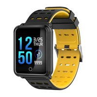 N88 Smart Watch Pressão de sangue Monitor de frequência cardíaca SmartWatch Fitness Tracker IP68 impermeável Smart WristWatch para iOS Android Phone Watch