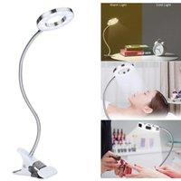 Table Lamps Clip-on Desk Lamp USB Eye Protection LED Light Bendable Flexible Reading Nail Tattoo Beauty
