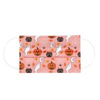New Designer Face Mask Halloween children breathable disposable three-layer protective masks wholesale