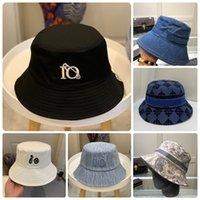 Femmes Fashion Bucket Chapeau Caps Caps Chapeaux Hommes Broderie Été Summer Fisherman Beach Cap Bonnet Sun Casquette