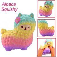 Squishy Simulation Slow Rebound Decompressie Toy Alpaca Vent Kinderen Speelgoed Geschenken Groothandel Gyq