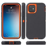 Hybrid Robot 3-In-1 Heavy Duty Military Grade Shockproof Waterproof Defender Case For iPhone 12 11 XR X Xs Max 6 7 8 Plus