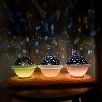 Новый Ночной Свет UFO USB Зарядка Настольная Лампа Спальня Прикроватная лампа Главная Гостиная Настольные Лампы День рождения Рождественский подарок