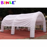 custom made mobile blow up inflatable tent with LED light waterproof dome arch tents canopy for outdoor parties or events