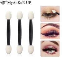Makeup Pinsel 25 stücke Professionelle Schwamm Stick Lidschatten Applikator Kosmetische Doppelte Lidschattenbürste Für Frauenwerkzeuge