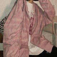 Women's Jackets 2021 Autumn Winter Coat Women Baseball Sweater Harajuku Streetwear Gothic Clothes Tunic Windbreaker Korean