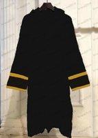 7 couleurs 100% coton de qualité supérieure femmes hommes hommes de bain robe de style européen et américain baignoires fournisseurs de peignoirs