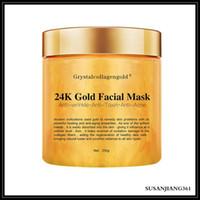 Epack Grystal Kollajen Altın Kadının Yüz Yüz Maskesi 24 K Altın Kollajen Soyma Yüz Maskesi Yüz Cilt Nemlendirici Sıkılaştırıcı
