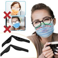 Anti Sis Burun Köprü Şerit Silikon Maske Burun Şeridi Sislenme DIY Koruma Aksesuarlarından Gözlük Önlemek Bireysel Paketlenmiş 536 S2