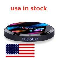Nave da USA H96 Max X3 Android 9.0 Scatola TV ANLOGIC S905x3 4 GB 128 GB 2.4G 5G WiFi BT 1000m LAN 8K
