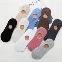 Invisible Short Woman Sweat summer comfortable cotton bamboo girl women's boat socks ankle low female invisible 1pair=2pcs tt097