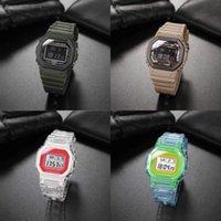 sale casual Hot sports quartz men's 5600 watch digital LED waterproof watch world time cold light