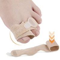 1 adet Ayak Parmak Düzeltici Tabanlık Kumaş Jel Silikon Tüp Bunyon Toes Parmaklar Ayırıcı Bölücü Koruyucu Mısır Nasırlar
