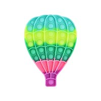Hot Air Balloon Model Fidget Toys Children Anti Stress Push Bubble Antistress Spotify Premium Squeeze Toy Squishy Silicone Gifts Drop Shipping