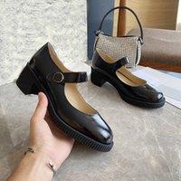 أحذية لوليتا الصنادل النساء كبير رئيس دمية منصة مضخات سميكة أسفل أسود القوطية ماري جين كلية اللباس