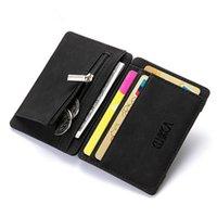 Piccoli portafogli da uomo a portafoglio Ultra Thin Mini Portafogli per uomo in pelle PU Portafogli per monete di alta qualità Portafogli con carta di credito