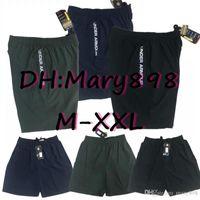 Nuevo 2019 2020 hombres bajo pantalones cortos deportivos 2019 2020 pantalones cortos de entrenamiento letra estilo color 3 con cremallera Tamaño de bolsillo M L XL XXL