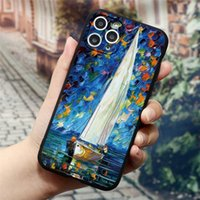 3D Emboss Case For iphone 13 SE 2020 XR X 7 8 6 Plus 7Plus 8plus Soft Silicon Oil Painting Cover For iphone 13 11 12 Pro XS Max Capa