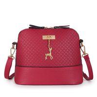 Вечерние сумки La Maxza Fahion кожаные женские сумка на плечо женское кошелек олень кулон маленький мини широк Bolsos вместительная корейская версия