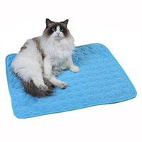 Cat Beds & Furniture Washable Dog Pet Cooling Mat Urine Absorbent Environment Protect Diaper Waterproof Reusable Training Pad Car Seat Cover