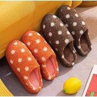 Slippers Women Home Winter Warm Shoes Non-slip Soft Indoor Plush Female Flat Slipper Ladies Bedroom Cotton Comfort Slides 2021