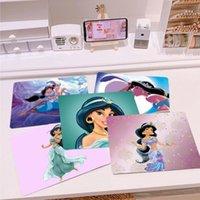 Mouse Peds Bilek Dinlenmek en sevdiğim Disey Aladdin Yasemin Prenses DIY Tasarım Desen oyunu Mousepad En Çok Satan Toptan Oyun Pedi