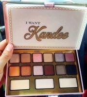 بيع الأسهم! ماكياج أريد Kandee تواجه لوحات 15 ألوان محدودة طبعة عينيه لوحة جودة عالية