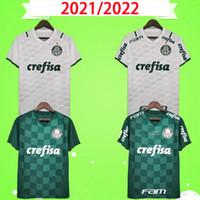 2021 2022 Palmeiras MAILLOTS DE FOOTBALL MAISON VERT DUDO G.JESUS JEAN ALECSANDRO Extérieur ALLIONE CLEITON XAVIER 21 22 CHEMISES de football