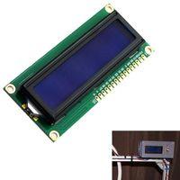 Promozione multimetri! DC 5V HD44780 1602 MODULO DISPLAY LCD 16x2 caratteri LCM Retroilluminazione blu