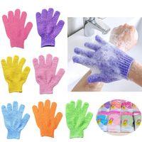 Exfoliating Bath Gloves For Shower Body Massage Scrubber Dead Skin Cell Remover Sponge Wash Skins Moisturizing SPA Foam Suitable Men Women And Children