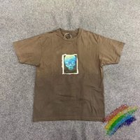 2021 Nuevo Travis Scott Cactus Jack 20SS, Mais Alta Na Sala, Astroworld, Masculina E Feminina, Estilo de Vero, Casual Camiseta com 94WQ