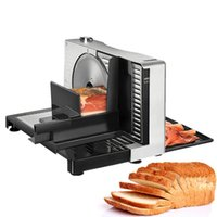 110V~220V Bread Meat Slicer Electric Meat Cutter Semi Automatic Household Foldable Toast Beef Lamb Roll Cutting Machine US UK EU
