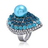 Кольца дизайнерские кольца дизайнер ювелирные изделия жемчужные украшения аксессуары свободных размеров кольцо прокладки ювелирных изделий аксессуары для вечеринок
