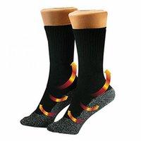 Outdoor Winter Self Heating Heated Socks Unisex Thermal Work Boot Warm Feet Comfort Health Heat Guard Hiking Ski Sports Socks