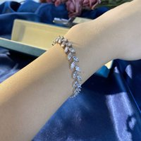 HBP luxury New Style S925 Bracelet Japanese and Korean fashion leaf Sterling Silver geometric women's jewelry