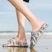 Slippers Man White Flip-Flop Luxury Elderly Women's Sandals For Summer Novelties Designer Shoes Single Tennis Low Price