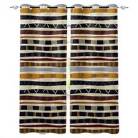 Curtain & Drapes African Style Living Room Kids Kitchen Decor Window Panels Curtains Front Home
