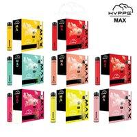 Barre d'hyppe Max Dispositif jetable Max Kit de pod 650mAh Batterie 1500 Puff 5 ml Pods de vape pré-remplissage Pods Cartouches VS Bang XL XTRA PLUS Flow XXL