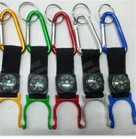 15 pcs Beaucoup de mousqueton Aquarius boucle à l'extérieur Gadgets Gadgets Boucle d'alpinisme avec Compass Randonnée Campang Expédition rapide 399 x2