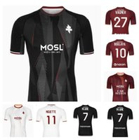 21 22 FC METZ SOCCER JERSEYS AWAY 2021 2022 BOULAYA DIALLO CENTONZE BRONN VAGNER NIANE FOFANA HOME 3rd FOOTBALL SHIRT