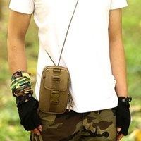 Tactique Universal Holster HIP Taille de ceinture Portefeuille Portefeuille Portefeuille Coque de téléphone avec fermeture à glissière