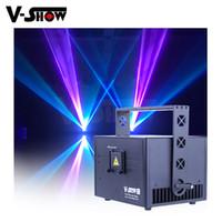 V-Show Europe Warehouse 3W Neues Design RGB Animation Laser Light DMX Control Schreibenstufe Programmierbare Projektor für DJ Bar Disco