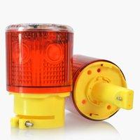 Semaforo 1 PZ 0.3W 6.3W 600mAh Avvertimento solare Avvertenza Le lampade di emergenza impermeabili LED lampeggianti Lampada di allarme Lampada del segnale per la Ship Road Tower